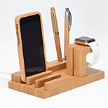 Недорогие -Apple Watch Стенд с адаптером Other деревянный Стол