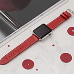 abordables -Ver Banda para Apple Watch Series 3 / 2 / 1 Apple Hebilla Clásica Cuero Auténtico Correa de Muñeca