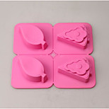 cheap -Cake Molds Rectangular For Candy Silica Gel Thanksgiving New Year's Birthday Holiday
