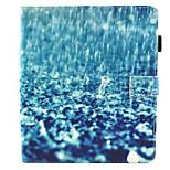 Недорогие -Кейс для Назначение Apple iPad Air 2 Защита от удара со стендом Флип С узором Авто Режим сна / Пробуждение Чехол Мультипликация Твердый