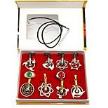 Недорогие -аксессуары для косплея, вдохновленные наруто саске учиха аниме косплей аксессуары кольца ожерелья хром