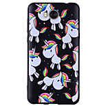 cheap -Case For Huawei Y6 (2017)(Nova Young) Y5 III(Y5 2017) Pattern Back Cover Unicorn Soft Silicone for Huawei Y6 (2017)(Nova Young) Huawei Y5