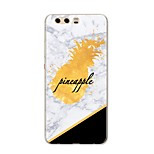 cheap -Case For Huawei P10 Plus P10 Lite Pattern Back Cover Fruit Marble Soft TPU for P10 Plus P10 Lite P10 P9 P9 Lite P9 Plus P8 P8 Lite P8
