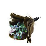 Недорогие -Игрушка для котов Игрушки для животных Дразнилки Игрушка с перьями Шарф / лента Глянцевый Прыжки Сверкающий Декомпрессионные игрушки