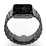 Недорогие -Ремешок для часов для Apple Watch Series 3 / 2 / 1 Apple Повязка на запястье Классическая застежка Нержавеющая сталь