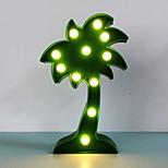 Недорогие -led night light кокосовое дерево 3d лампа для детей домашнее украшение настольная лампа