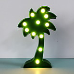 Недорогие -1шт LED Night Light Теплый белый Аккумуляторы AA прикроватный
