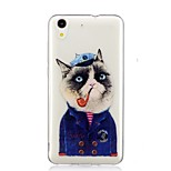 cheap -Case For Huawei Y6 II / Honor Holly 3 Nova Pattern Back Cover Cat Soft TPU for Huawei Y6 II / Honor Holly 3 Huawei Y5 II / Honor 5 Nova