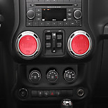 cheap -Automotive Sound Knob DIY Car Interiors For Jeep 2017 2016 2015 2014 2013 2012 2011 Wrangler