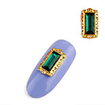 Недорогие -2шт ретро стиль набор шнек сплава драгоценность украшение ногтей