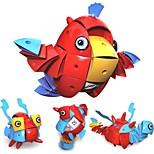 Недорогие -Магнитный конструктор Игрушки Птица Животные трансформируемый Новый дизайн Мягкие пластиковые 90 Куски
