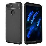 Недорогие -Кейс для Назначение Huawei Honor 9 Lite Honor 7X Защита от удара Матовое Сплошной цвет Мягкий для Huawei