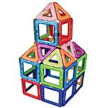 Недорогие -Магнитный конструктор Игрушки Круглый Квадратный Классика трансформируемый Ручная работа Мальчики Девочки 30 Куски
