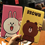 cheap -Case For Apple iPad mini 4 Shockproof with Stand Flip Pattern Auto Sleep/Wake Up Full Body Cases Cartoon Hard PU Leather for