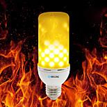 Недорогие -brelong e27 / e14 / b22 2835 99leds теплый белый огонь пламя лампочка 4w ac 85 - 265v