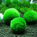 Недорогие -Оформление аквариума Растения Украшение Бижутерия
