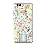 cheap -Case For Huawei P9 P10 Pattern Back Cover Cartoon Soft TPU for P10 Plus P10 Lite P10 P9 P9 Lite P9 lite mini P9 Plus P8 P8 Lite P8 Lite