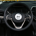 cheap -Automotive Steering Wheel Decor Frame DIY Car Interiors For Jeep Cherokee Grand Cherokee