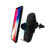 cheap -Wireless Charger Phone USB Charger USB Wireless Charger Qi 1 USB Port 2A DC 9V iPhone X iPhone 8 Plus iPhone 8 S8 Plus S8 S7 Active S7