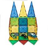 Недорогие -Магнитный конструктор Игрушки Архитектура трансформируемый Мягкие пластиковые 32 Куски