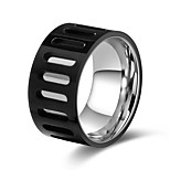 cheap -Men's Women's Band Rings Basic European Stainless Steel Jewelry Gift Daily