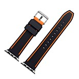cheap -Watch Band for Apple Watch Series 3 / 2 / 1 Apple Wrist Strap Sport Band Silicone
