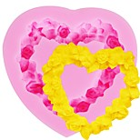 cheap -Cake Molds Garland For Candy Cookie Cake For Cupcake For Cookie Silica Gel DIY Thanksgiving Valentine's Day Birthday Baking Tool