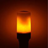 Недорогие -1шт 5W 700lm E27 GU10 B22 LED лампы типа Корн E27 / E14 96 светодиоды SMD 2835 Светодиодные фонарики Декоративная Эффект пламени Тёплый