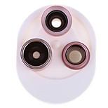 Недорогие -объектив для объектива с мобильным телефоном с фильтром для рыбьего глаза широкоугольный объектив макросъемное стекло 15x 25 0,1 198