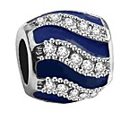 cheap -DIY Jewelry 1 pcs Beads Imitation Diamond Alloy Red Royal Blue Tube Shape Bead 0.2 cm DIY Necklace Bracelet