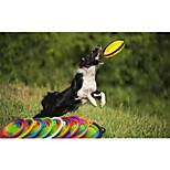 Недорогие -Кошка Собака Кормушки Животные Чаши и откорма Компактность Путешествия Складной Радужный