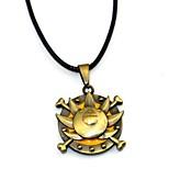 Недорогие -Больше аксессуаров Вдохновлен One Piece Ace Аниме Косплэй аксессуары Ожерелья