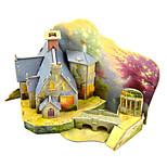 Недорогие -Наборы для моделирования Игрушки Цилиндрическая Архитектура Ручная работа Взаимодействие родителей и детей утонченный Мягкие пластиковые