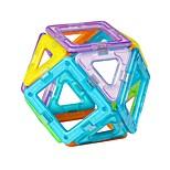 Недорогие -Магнитный конструктор Игрушки трансформируемый Мягкие пластиковые 20 Куски