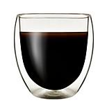 abordables -Boda Fiesta Artículos para Bebida, 205 Vaso de boro alto Marrón Café Té Jugo Leche Agua Vidrio