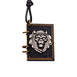 Недорогие -Муж. Медальон На каждый день европейский Мода Ожерелья с подвесками , Сплав Ожерелья с подвесками , Другое Повседневные
