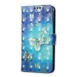 cheap -Case For Huawei P9 lite mini Card Holder Wallet with Stand Flip Magnetic Pattern Full Body Butterfly Hard PU Leather for P9 lite mini