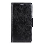 cheap -Case For LG V30 V20 Card Holder Wallet with Windows Flip Full Body Solid Color Hard PU Leather for LG X Style LG X Screen LG X Power LG