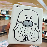 cheap -Case For Apple iPad mini 4 Shockproof Pattern Full Body Cases Cartoon Soft Silica Gel for
