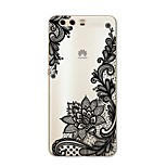 cheap -Case For Huawei P10 Plus P10 Lite Pattern Back Cover Lace Printing Soft TPU for P10 Plus P10 Lite P10 P9 P9 Lite P9 Plus P8 P8 Lite P7