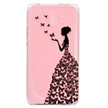 cheap -Case For Huawei Mate 9 Mate 10 Transparent Pattern Back Cover Sexy Lady Soft TPU for Mate 10 Mate 10 pro Mate 10 lite Mate 9
