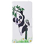 cheap -Case For Nokia Nokia 8 Card Holder Wallet with Stand Flip Magnetic Full Body Cases Plants Panda Hard PU Leather TPU for Nokia 8