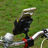 cheap -Bike Mobile Phone mount stand holder Adjustable Stand Mobile Phone Buckle Type ABS Holder
