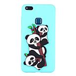 cheap -Case For Huawei P8 Lite (2017) P10 Lite Pattern Back Cover Panda Soft TPU for P10 Lite P8 Lite (2017)
