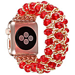 Недорогие -Ремешок для часов для Apple Watch Series 3 / 2 / 1 Apple Повязка на запястье Дизайн украшения Керамика