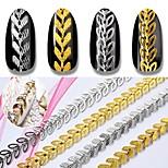 Недорогие -Гель для ногтей Одежда в стиле Панк Ар деко / Ретро Классика Высокое качество Повседневные Дизайн ногтей