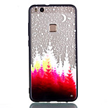 cheap -Case For Huawei P8 Lite (2017) P10 Lite Transparent Pattern Back Cover Tree Hard Acrylic for P10 Lite P9 Lite P8 Lite (2017)