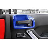 Недорогие -автомобильный Внутренняя дверная чаша Всё для оформления интерьера авто Назначение Jeep 2017 2016 2015 2014 2013 2012 2011 Wrangler