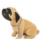 Недорогие -Кошка Собака Ошейники Компактность Складной Регулируемая гибкая Однотонный Нержавеющая сталь Серебряный