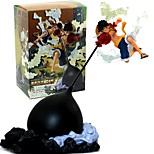 Недорогие -Аниме Фигурки Вдохновлен One Piece Monkey D. Luffy 26 См Модель игрушки игрушки куклы
